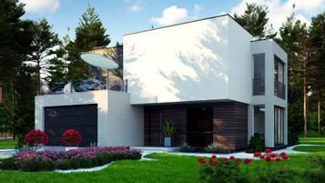 Zr17A to prosta, nowoczesna rezydencja o powierzchni ok. 150 m2
